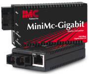 迷你独立式MiniMc-千兆Gigabit, TX/SX-MM850-SC 550 m - 7.5 dB